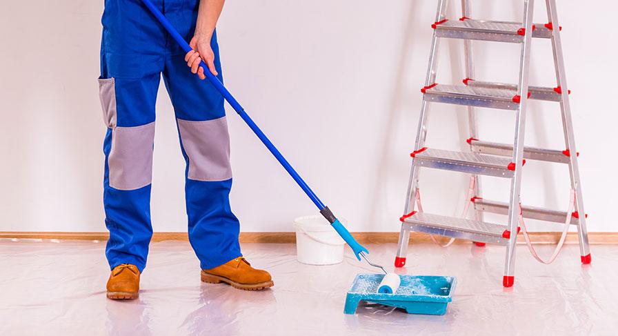 Svårt att hitta målare för mindre jobb